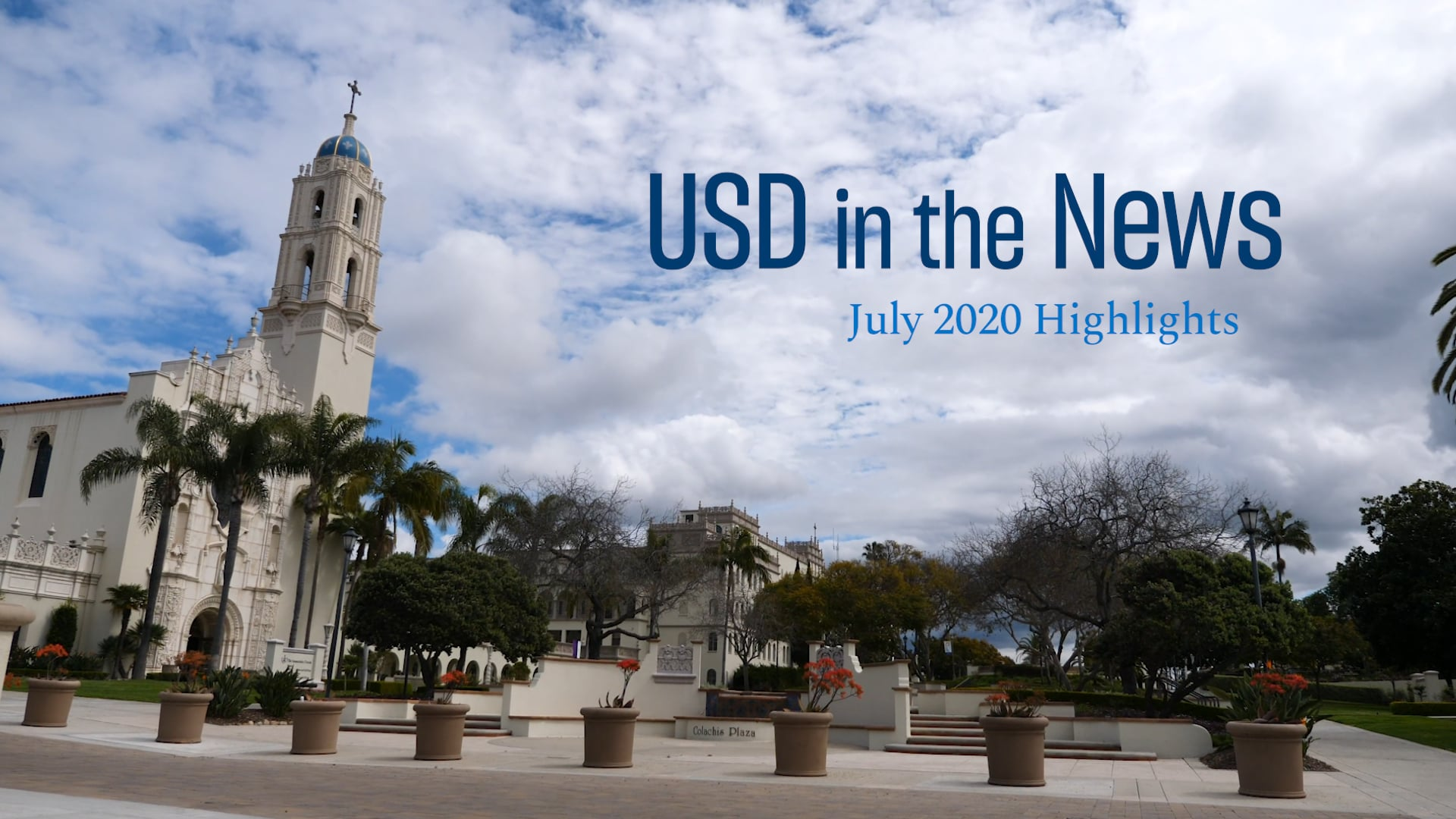 USD in the News - July 2020