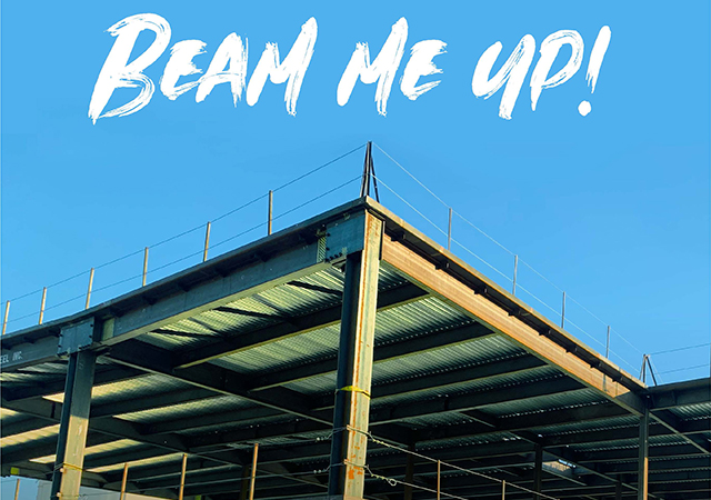 Topping Out Ceremony for Learning Commons on Dec. 19