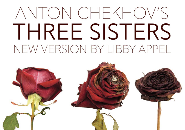 Three Sisters logo with three roses