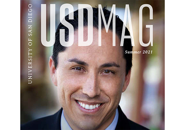 Cover image of San Diego Mayor Todd Gloria '00 (BA)