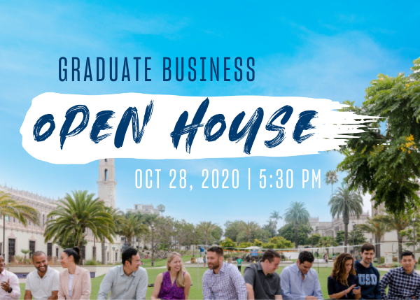 Graduate Business Open House October 28th