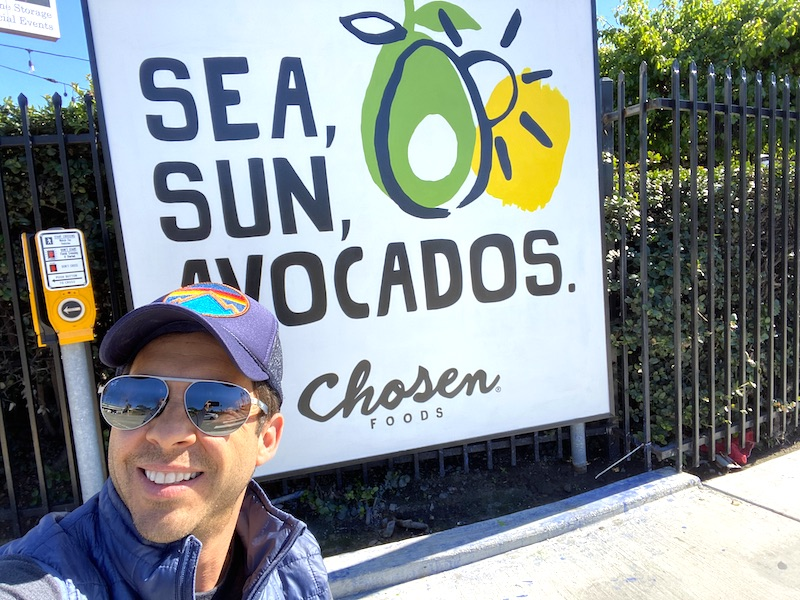 Sioma Waisburd, USD School of Business alum and co-founder of Chosen Foods