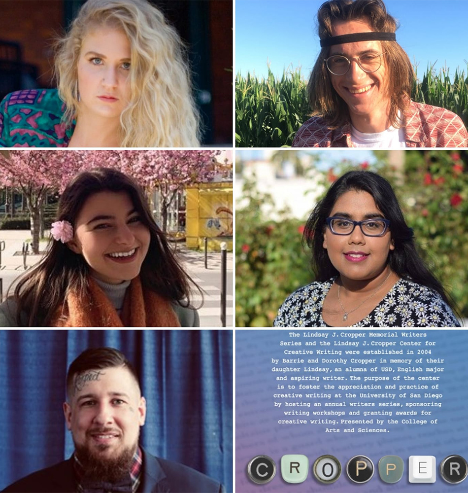 Congratulations to all of the student winners in the 2020 Lindsay J. Cropper Center Undergraduate Creative Writing Contest. Prizes were awarded for top fiction, nonfiction and poetry works.