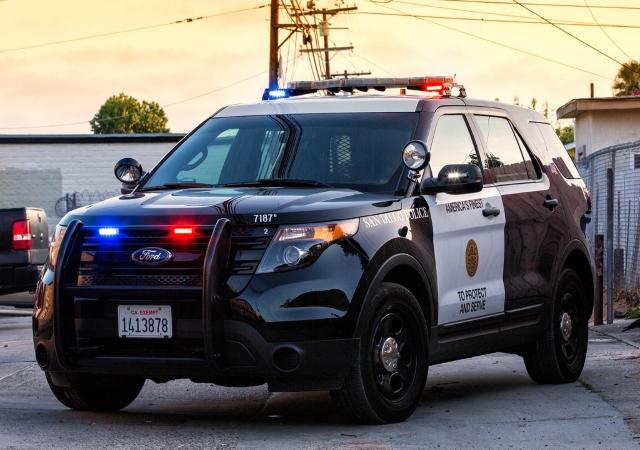 San Diego Policecar