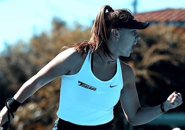 Maria Tyrina, Women's Tennis