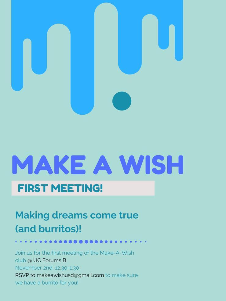 Make-A-Wish flyer