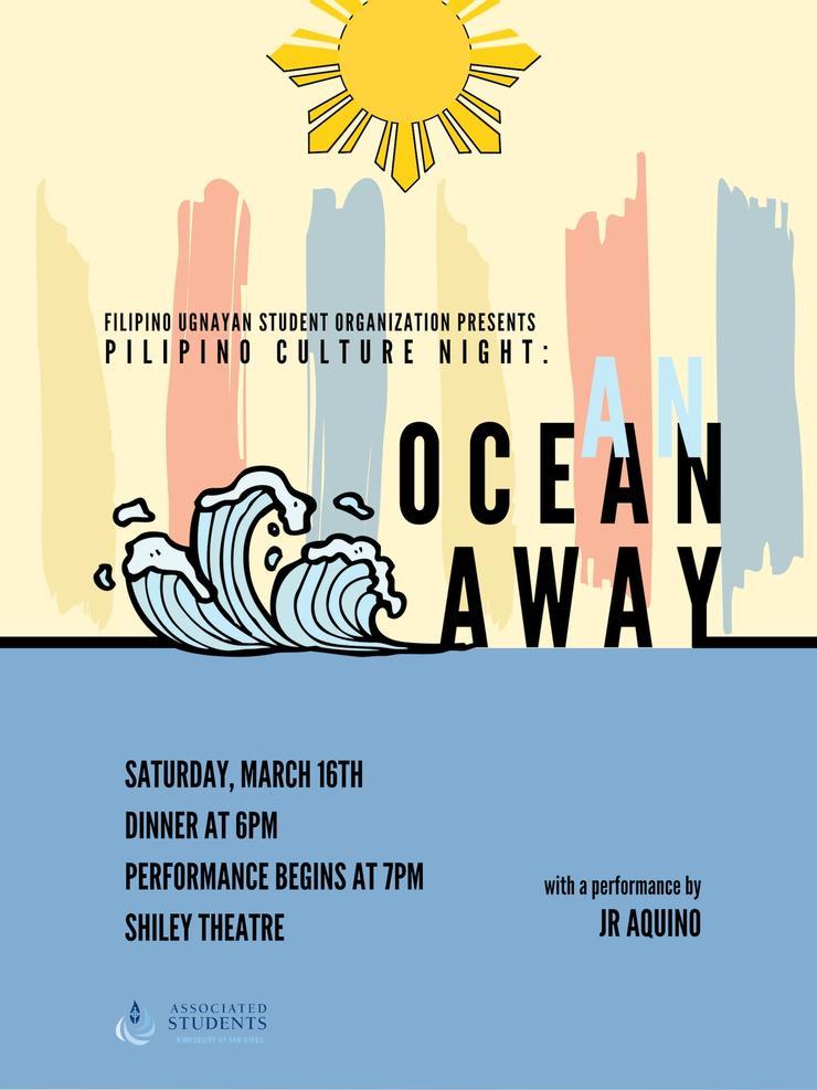 Pilipino Culture Night: An Ocean Away