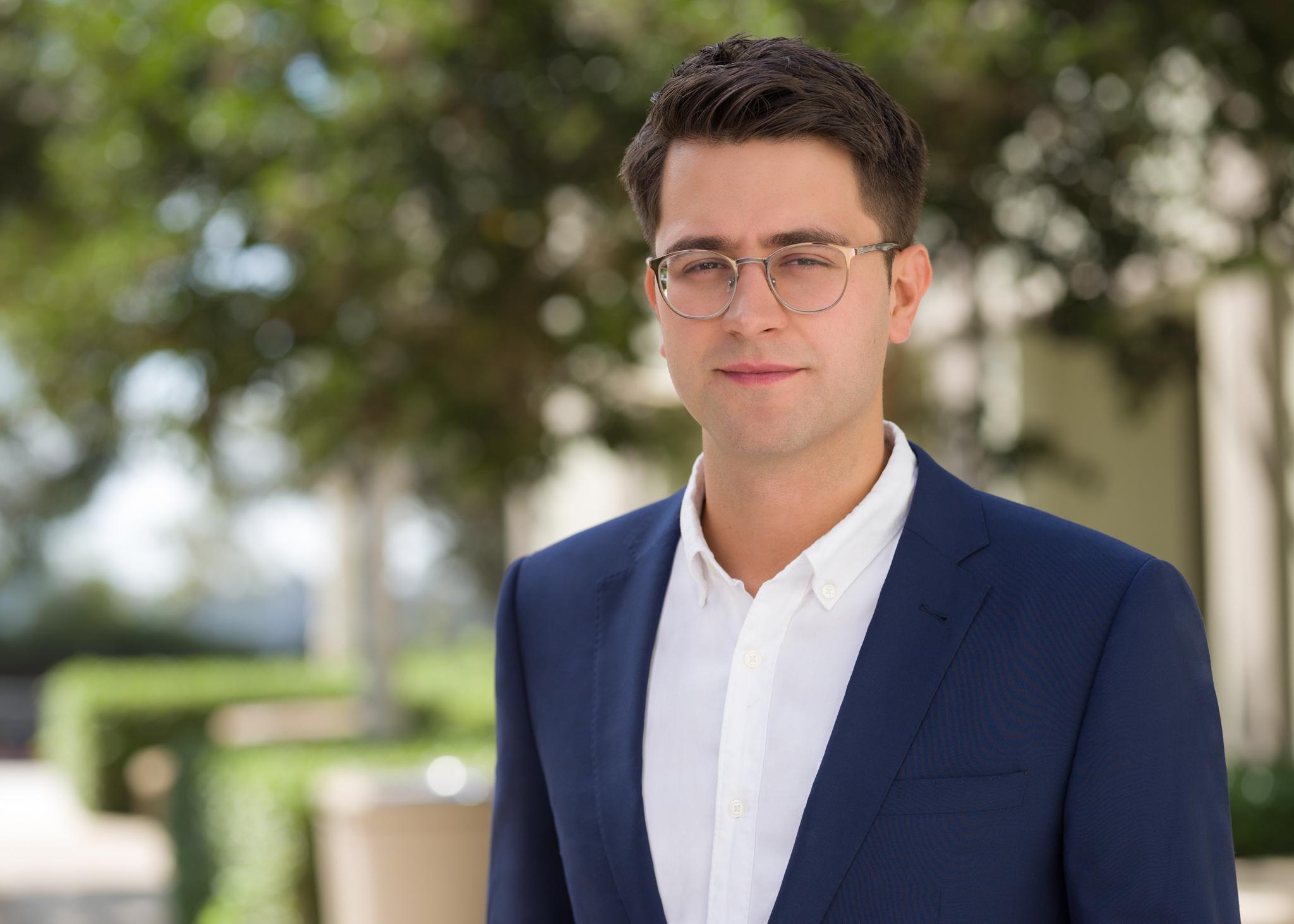 Directory photo of Assistant Professor of Finance Josh Della Vedova