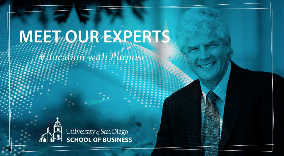 USD Professor of Operations and Supply Chain Management, David Pyke