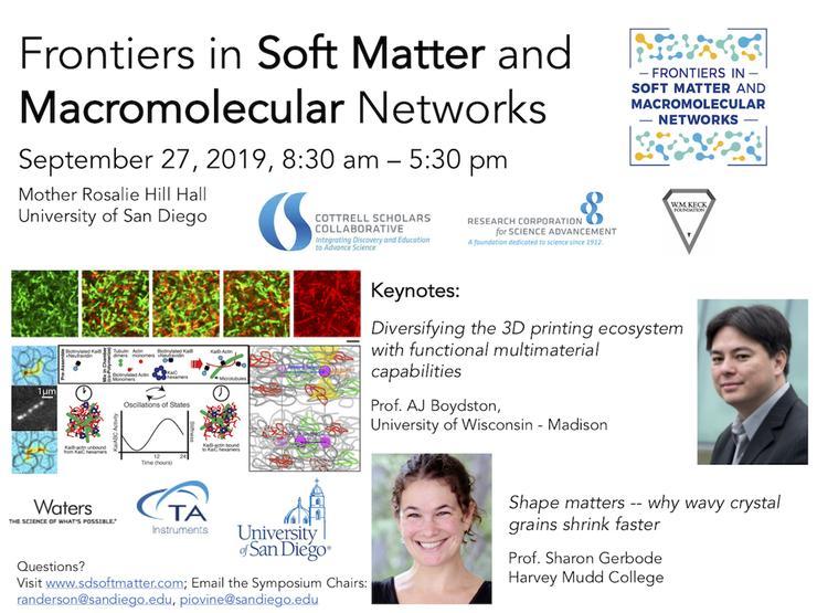 Soft Matter Symposium flyer