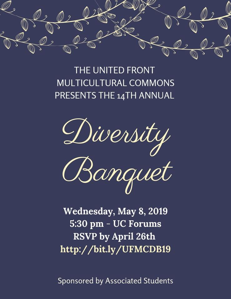 Diversity Banquet Flyer