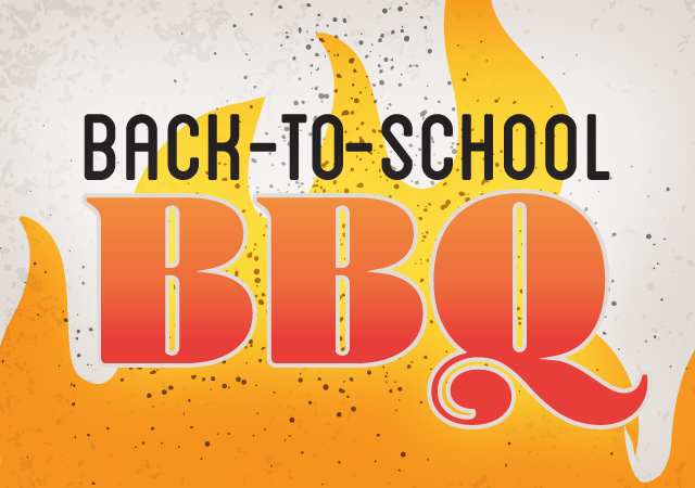 back to school barbeque