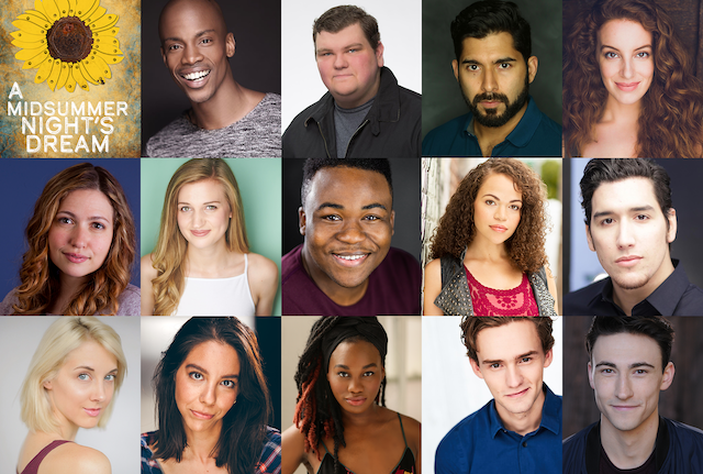 A Midsummer Night's Dream Headshots