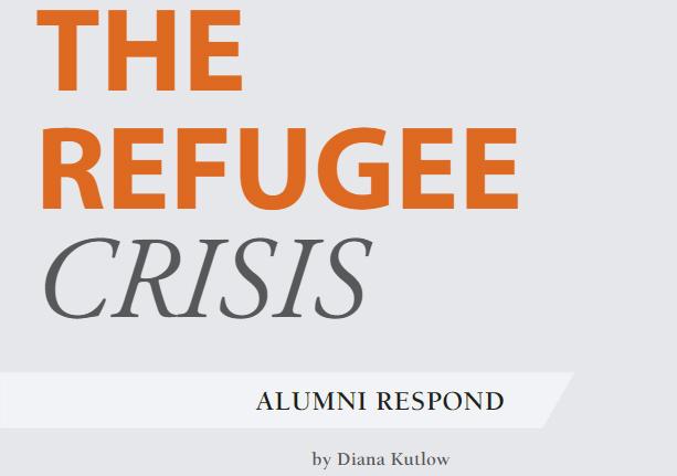 Refugee Crisis - Alumni Respond