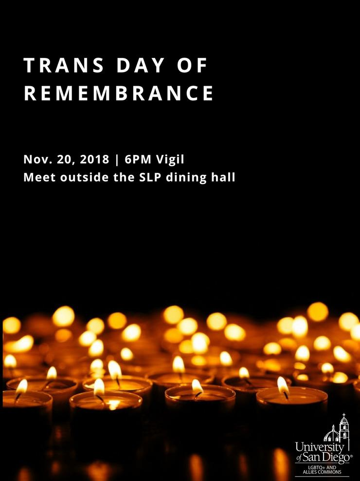 [Image description: Black background with candles at the bottom. White text reading
