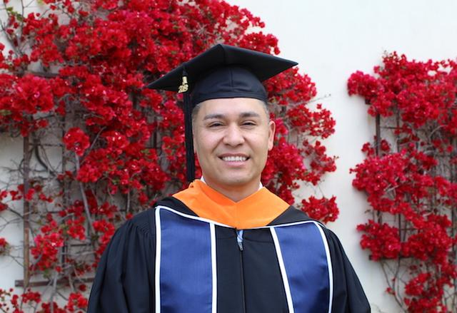 Richard Rositas, 2019 graduate of the 2019 MS in Cybersecurity Engineering program.