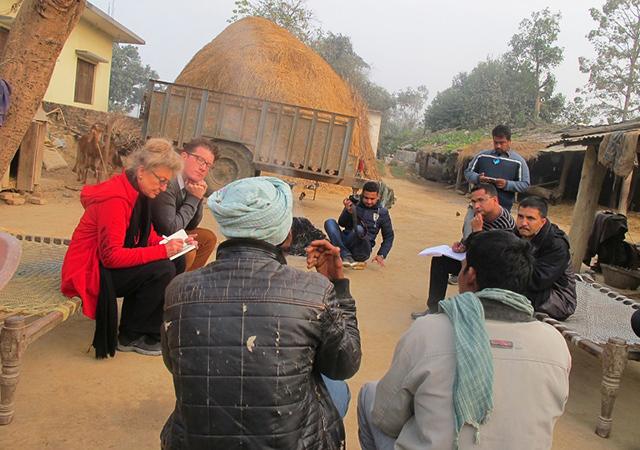 IPJ Team in Nepal