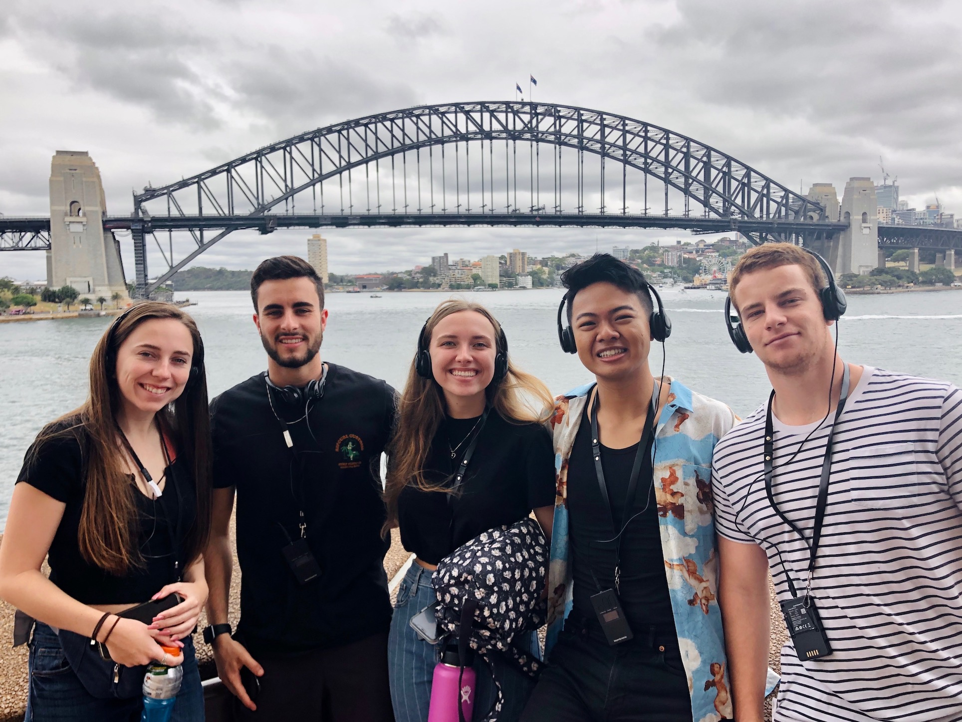 PSYC students at the Sydney Opera House