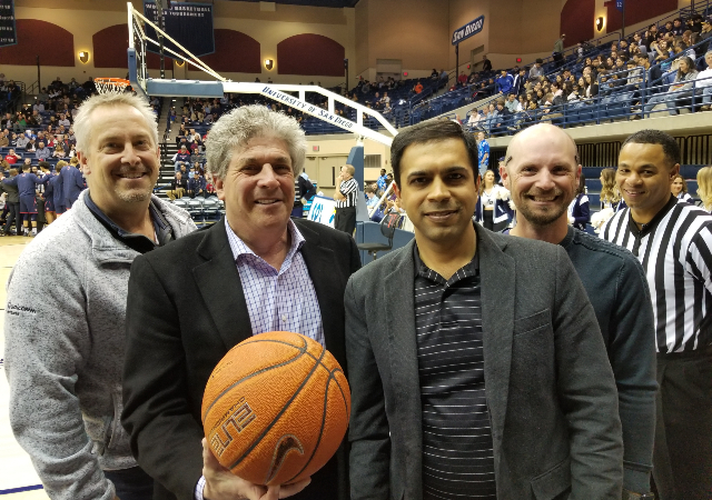 Photo (L-R): Keith Muhart, Mark Lefkowitz, Amitkumar Kakkad and Todd Langford