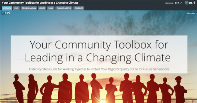 Main Page of CEP Toolbox Site