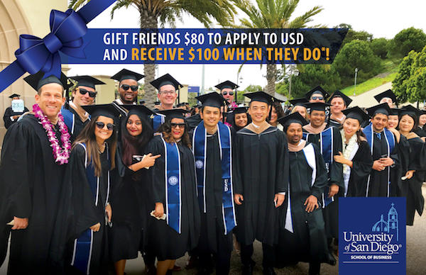 Gift Friends $80 to apply to USD and Receive $100 when they do.