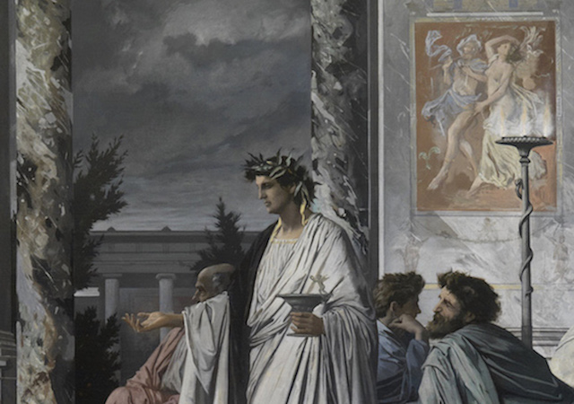 Painting of Plato's Symposium