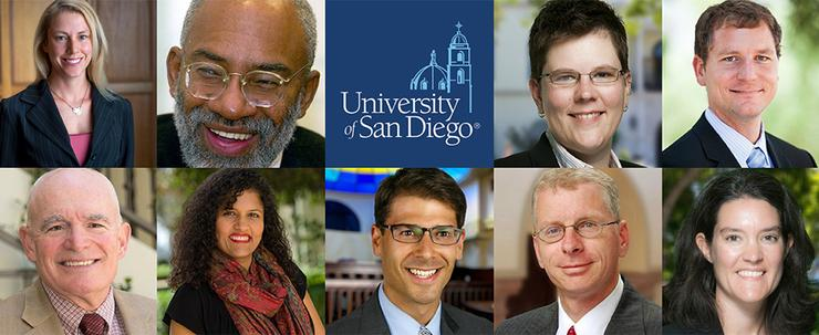 Vice President and Provost Dr. Gail F. Baker announced nine faculty members who will receive top USD honors at the 2018-19 Fall Convocation.