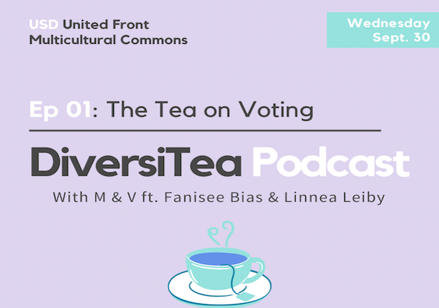 DiversiTea: The Tea on Voting ; Wed., 9/30 via IGtv & YouTube