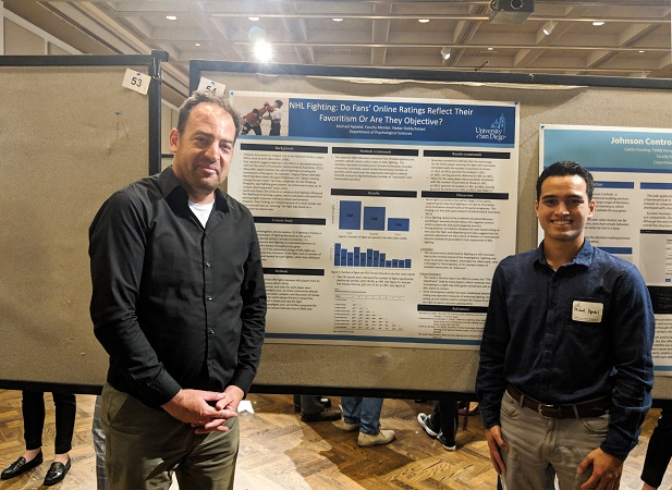 Michael Apostol and  Dr. Goldschmied