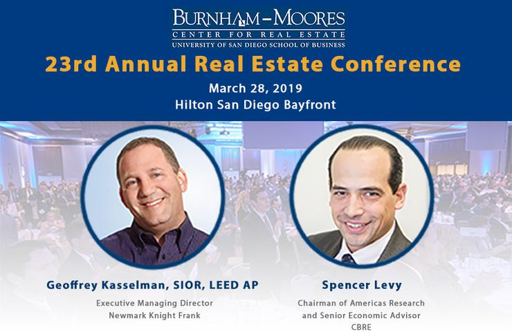 23rd Annual Real Estate Conference Speakers
