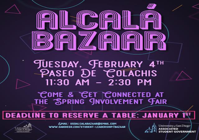 Alcala Bazaar Flyer