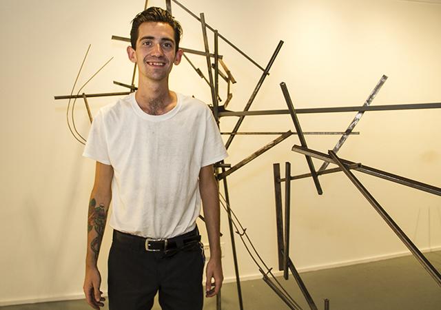 Crash, art project by Stanley Ryan