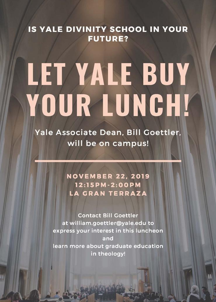 Yale Divinity School Visits USD