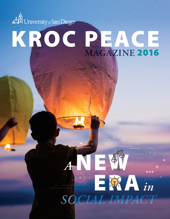 2016 Kroc Peace Magazine
