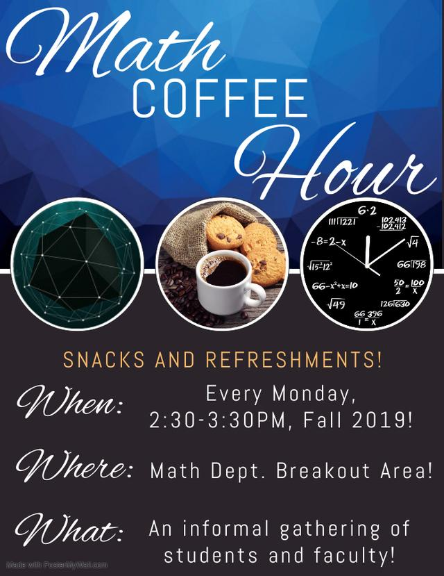 Math Coffee Hour