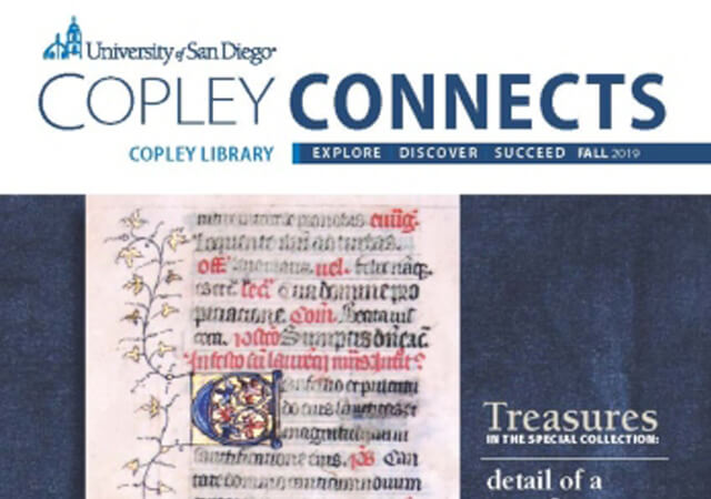 Copley Connects Newsletter Cover