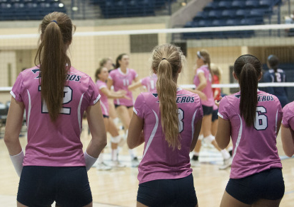 Volleyball Breast Cancer Awareness