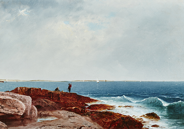 John Frederick Kensett, Narragansett Bay, 1861