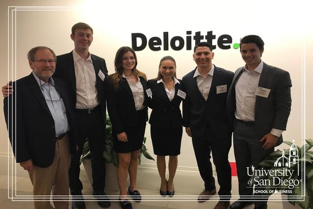 USD wins Regional Deloitte FanTaxic Tax Competition