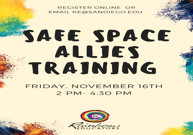Safe Space Allies Training