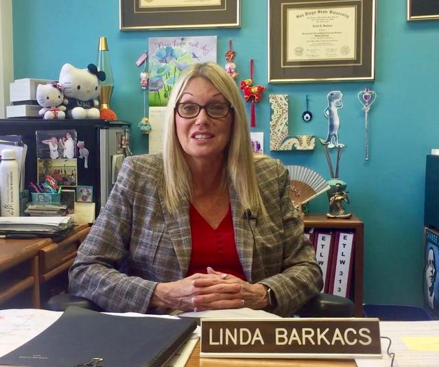 USD Professor of Business Law, Linda Barkacs