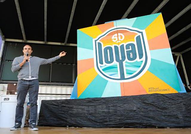 San Diego Loyal Head Coach Landon Donovan