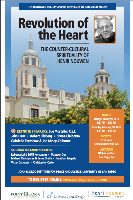 Henri Nouwen Conference flyer