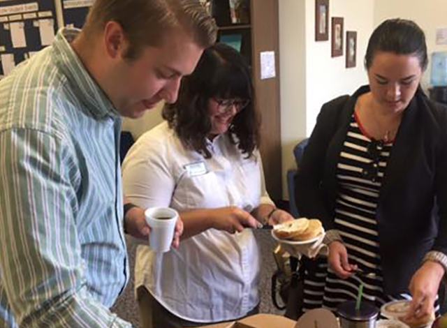 The first Bagel Breakfast for graduate and law students is Sept. 4.