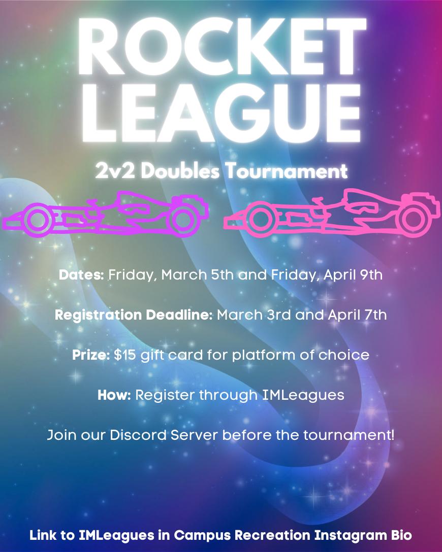 Rocket League Tournament Flyer