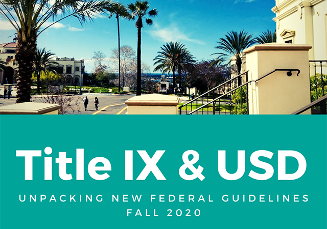 Title IX changes for Fall 2020; CARE