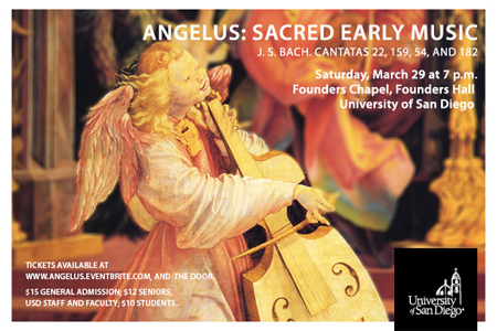 angelus early scared music concert 2014 postcard