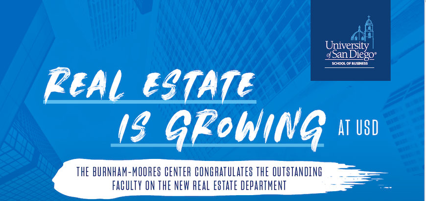 Real Estate is Growing at the University of San Diego