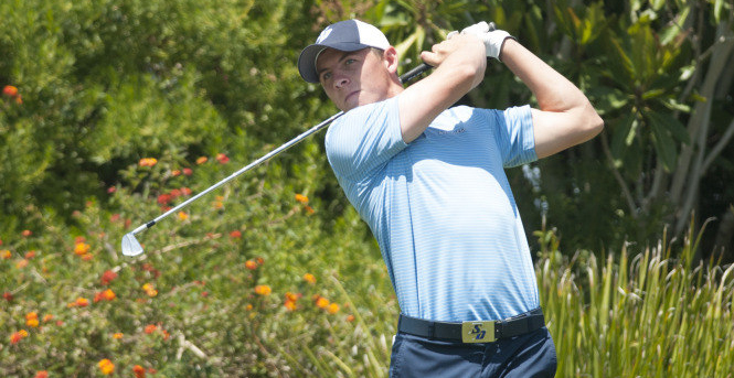 Grant Forrest, a former USD golf standout and 2015 alumnus, has qualified to play in The Open Championship, July 19-22, in Carnoustie, Scotland. He previously played in it in 2013 as a USD sophomore.