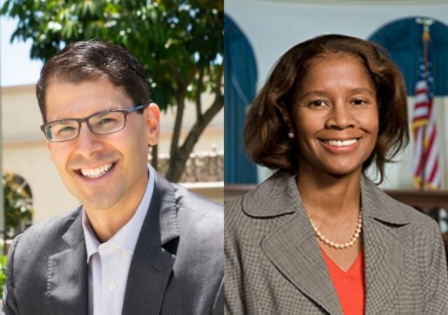 Professors Dov Fox and Mary Jo Wiggins